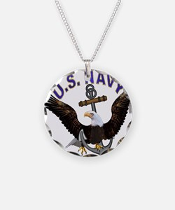 US NAVY (Anchor & Eagle) Necklace