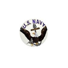 US NAVY (Anchor & Eagle) Mini Button