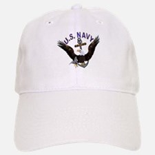 US NAVY (Anchor & Eagle) Baseball Baseball Cap