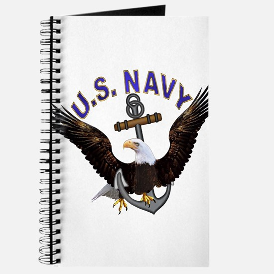 US NAVY (Anchor & Eagle) Journal
