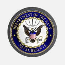 US Navy Reserve Wall Clock
