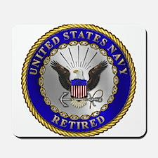 US Navy Retired Mousepad