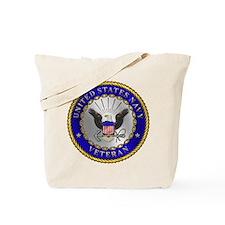 US Navy Veteran Tote Bag