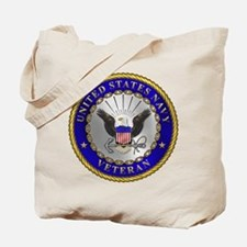 US Navy Veteran Tote Bag