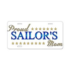 Sailor's Mom Aluminum License Plate