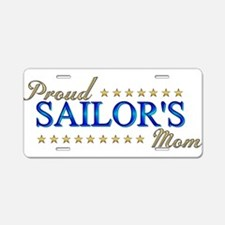 Sailor's Mom Aluminum License Plate