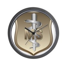 USAF Medical Services Wall Clock