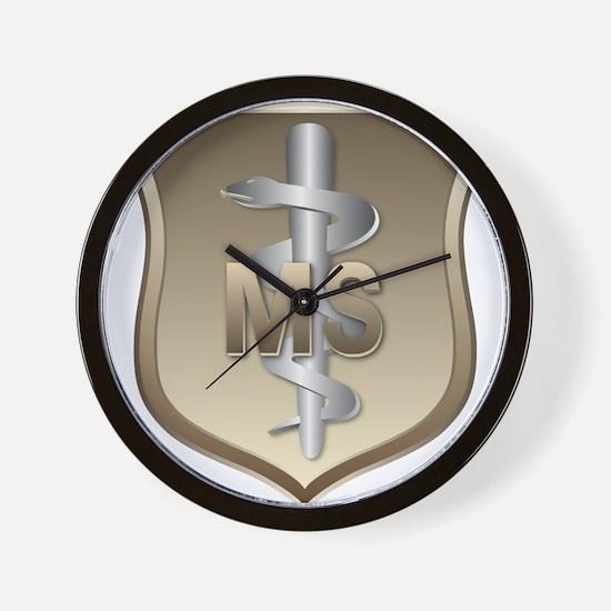 USAF Medical Services Wall Clock