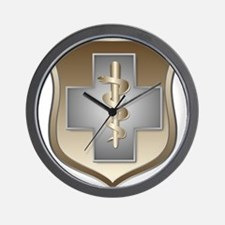 USAF Enlisted Medical Wall Clock