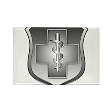 USAF Enlisted Medical Rectangle Magnet (100 pack)