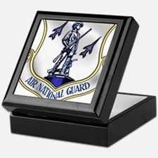 US Air National Guard Keepsake Box