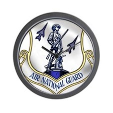 US Air National Guard Wall Clock