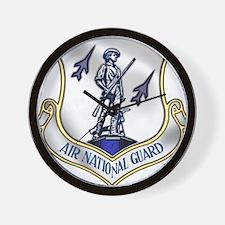 US Air National Guard Wall Clock