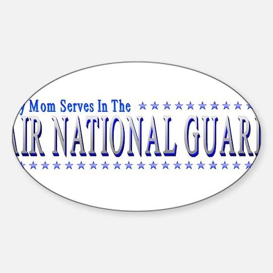 Air Guard Mom Sticker (Oval)