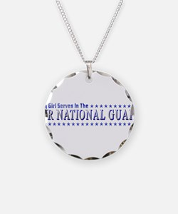 My Air Guard Girl Necklace