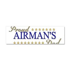 Airman's Dad Car Magnet 10 x 3