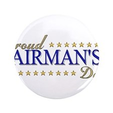 "Airman's Dad 3.5"" Button (100 pack)"