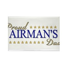 Airman's Dad Rectangle Magnet