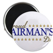 "Airman's Dad 2.25"" Magnet (100 pack)"