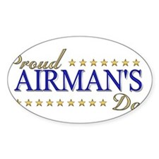 Airman's Dad Decal