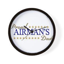 Airman's Dad Wall Clock
