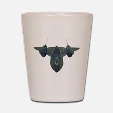 SR-71 Blackbird Shot Glass