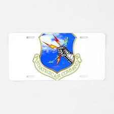 Strategic Air Command Aluminum License Plate