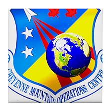 USAF Space Warfare Cmd Tile Coaster
