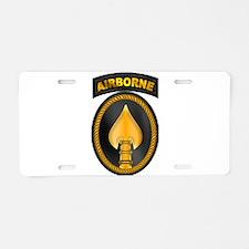 Spec Ops Cmd Classic Aluminum License Plate