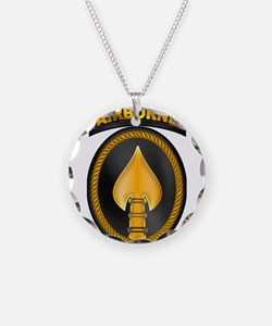 Spec Ops Cmd Classic Necklace Circle Charm