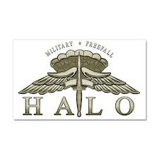 Halo Badge Car Magnet 20 x 12