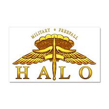 Golden Halo Badge Car Magnet 20 x 12