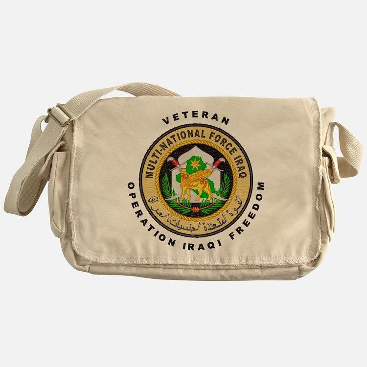 OIF Veteran Messenger Bag