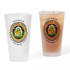 OIF Veteran Drinking Glass