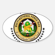OIF Veteran Sticker (Oval 10 pk)