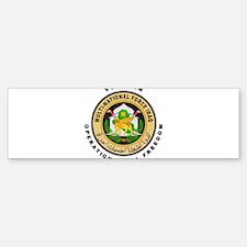 OIF Veteran Bumper Bumper Sticker