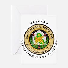 OIF Veteran Greeting Card