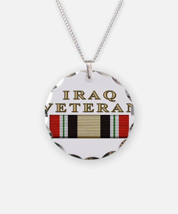 Iraq Vet Necklace
