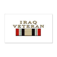 Iraq Vet 22x14 Wall Peel