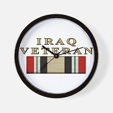 Iraq Vet Wall Clock