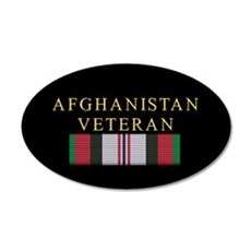 Afghanistan Vet 22x14 Oval Wall Peel