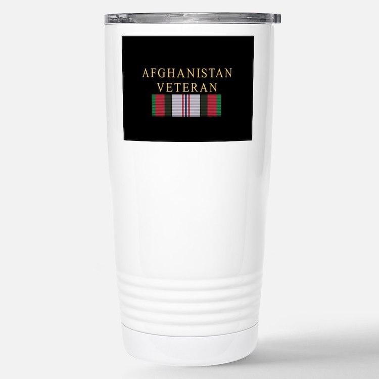 Afghanistan Vet Stainless Steel Travel Mug