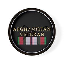 Afghanistan Vet Wall Clock