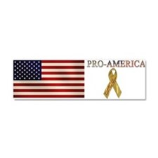 Support Our Troops Car Magnet 10 x 3
