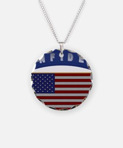 American Infidel Patch Necklace