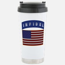 American Infidel Patch Stainless Steel Travel Mug