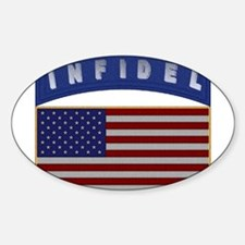 American Infidel Patch Decal