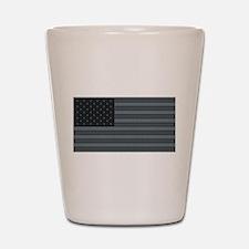 US Flag Urban Patch Shot Glass