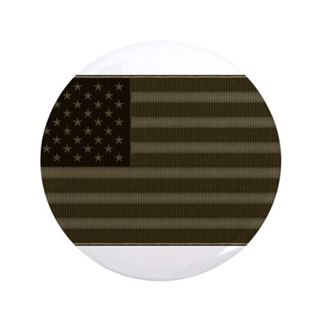 "US Flag OD Patch 3.5"" Button (100 pack)"