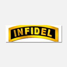 Infidel Tab Car Magnet 10 x 3